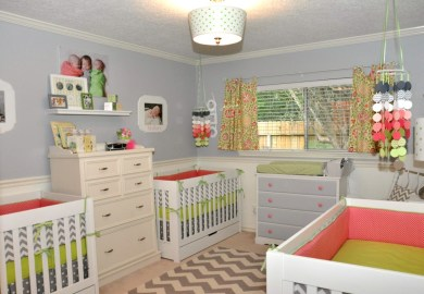 Girls Bedroom Ideas In Pink And Green