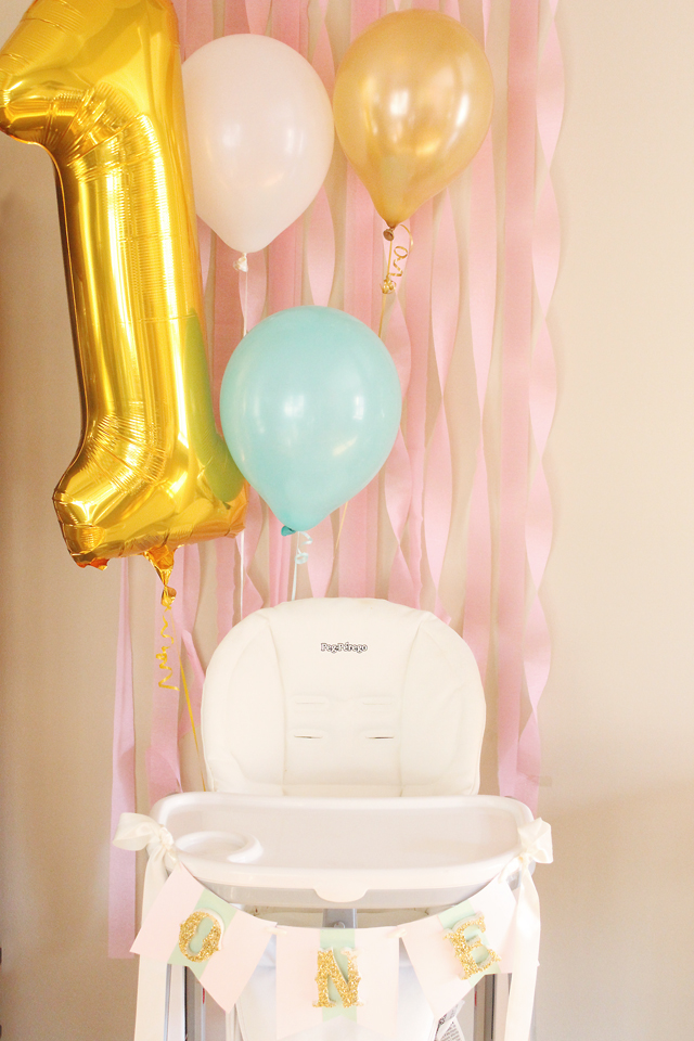 Party Reveal Hot Air Balloon Birthday Party  Project Nursery