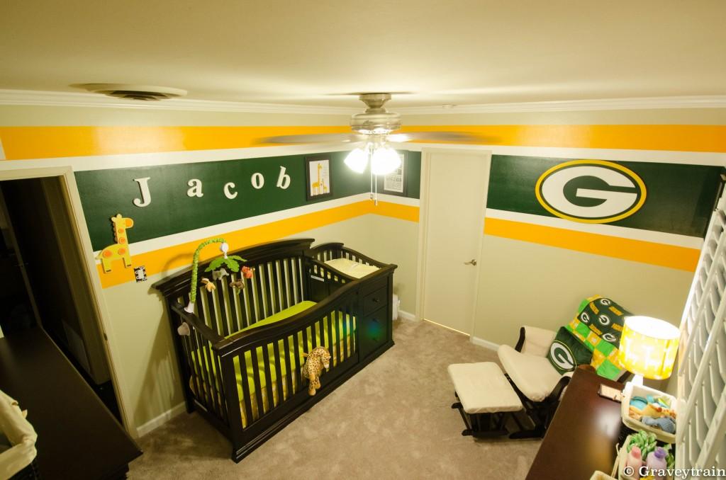 Little Baby Girl Wallpaper Ideas Jacob S Green Bay Packers Nursery Project Nursery