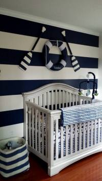 Start of Landon's Nautical Themed Nursery - Project Nursery