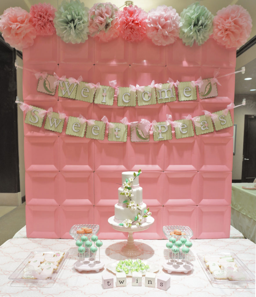33 Baby Shower Ideas For Twins : Twin Baby Shower Themes