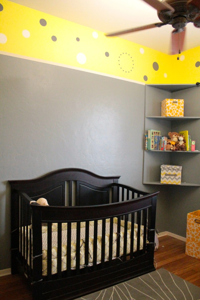 Yellow and Gray Nursery with Giraffes  Project Nursery