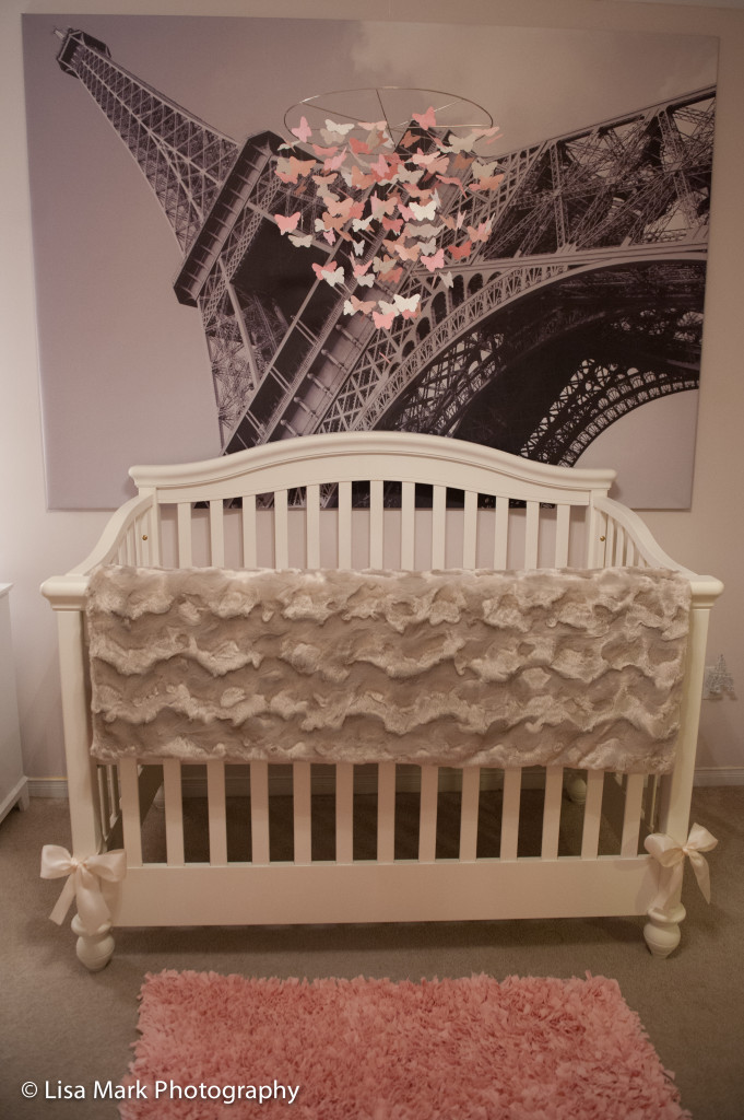 Jillians Vintage Pink Amp Gold Paris Themed Nursery