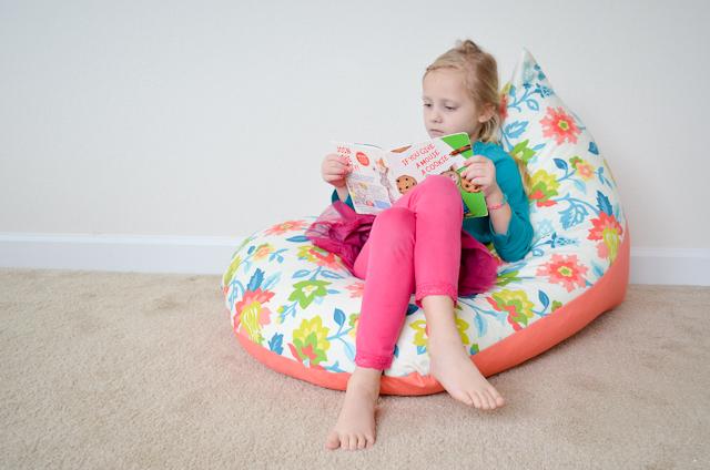 diy sew a kids bean bag chair in 30