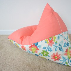 Two Person Bean Bag Chair High Quality Outdoor Folding Chairs Diy: Sew A Kids In 30 Minutes - Project Nursery