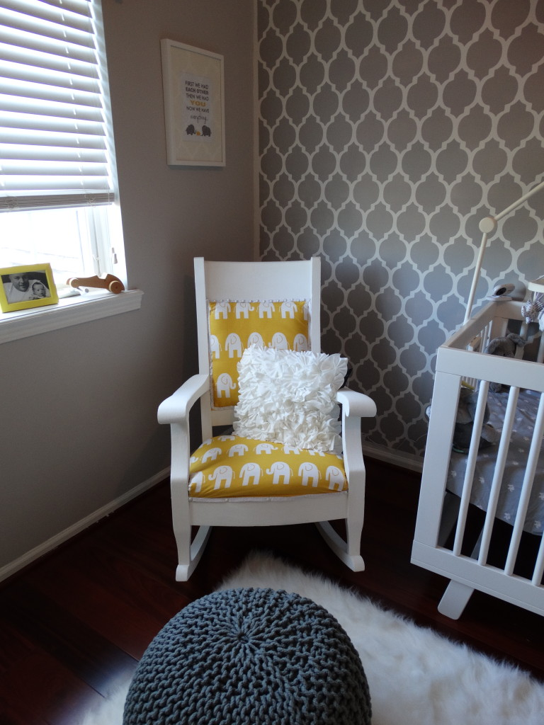 A Neutral DIY Yellow and Gray Nursery  Project Nursery
