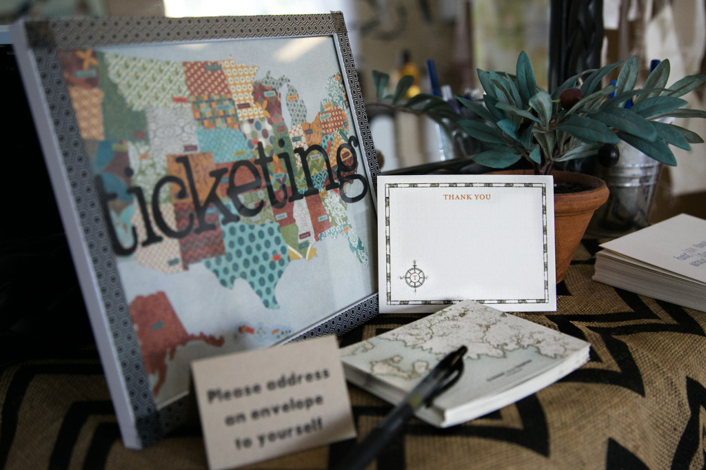 Vintage Travel Themed Baby Shower  Project Nursery
