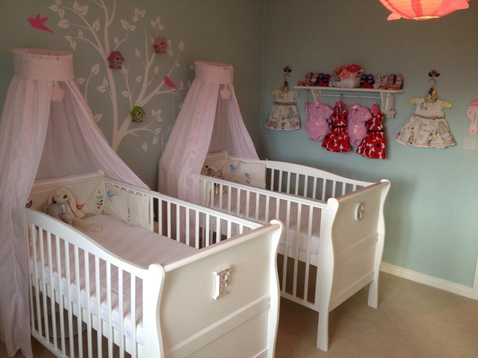 Inspired By Tiffany's  Twin Girls Nursery  Project Nursery