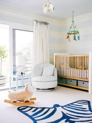 nursery stripes stars modern nurseries coastal living