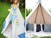 DIY: No-Sew Teepee - Project Nursery