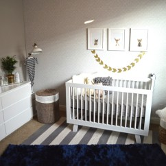 Ikea Toddler Chair Unusual Occasional Chairs Uk Modern Blue, Grey And Gold Nursery - Project