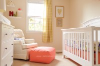 Periwinkle and Coral Baby Girl Nursery - Project Nursery
