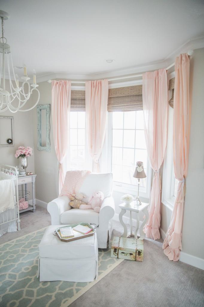 Blushing Pink Nurseries Project Nursery