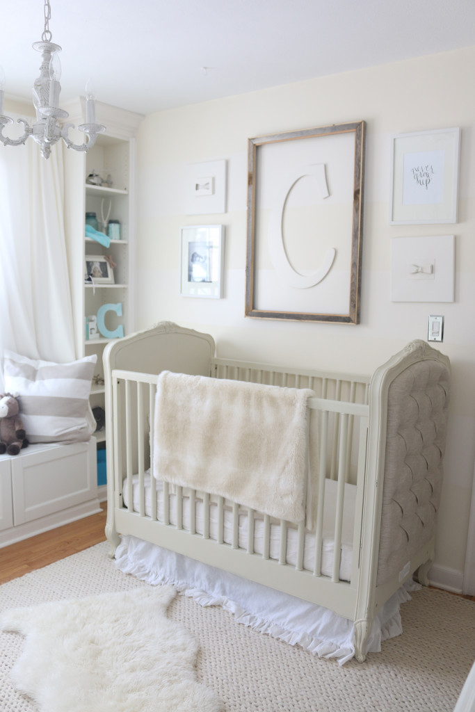 Camdens Cream and White Nursery  Project Nursery
