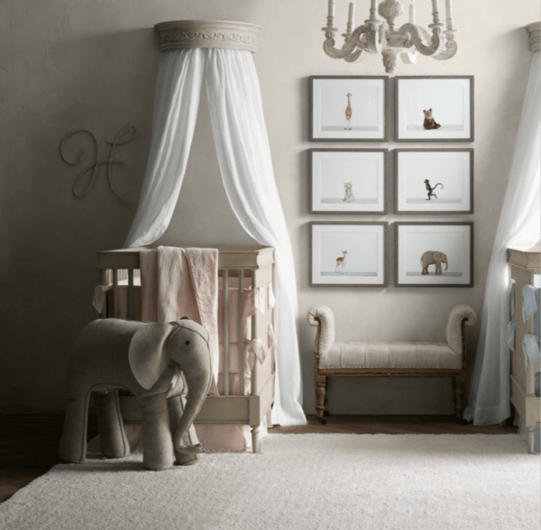 Oversized Stuffed Animals Nursery - Project