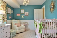 Hayden's Girly Teal Nursery - Project Nursery