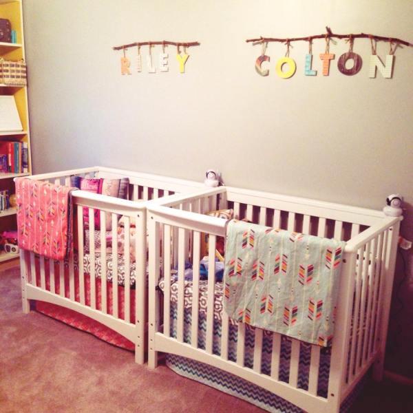 Boy Girl Twin Nursery