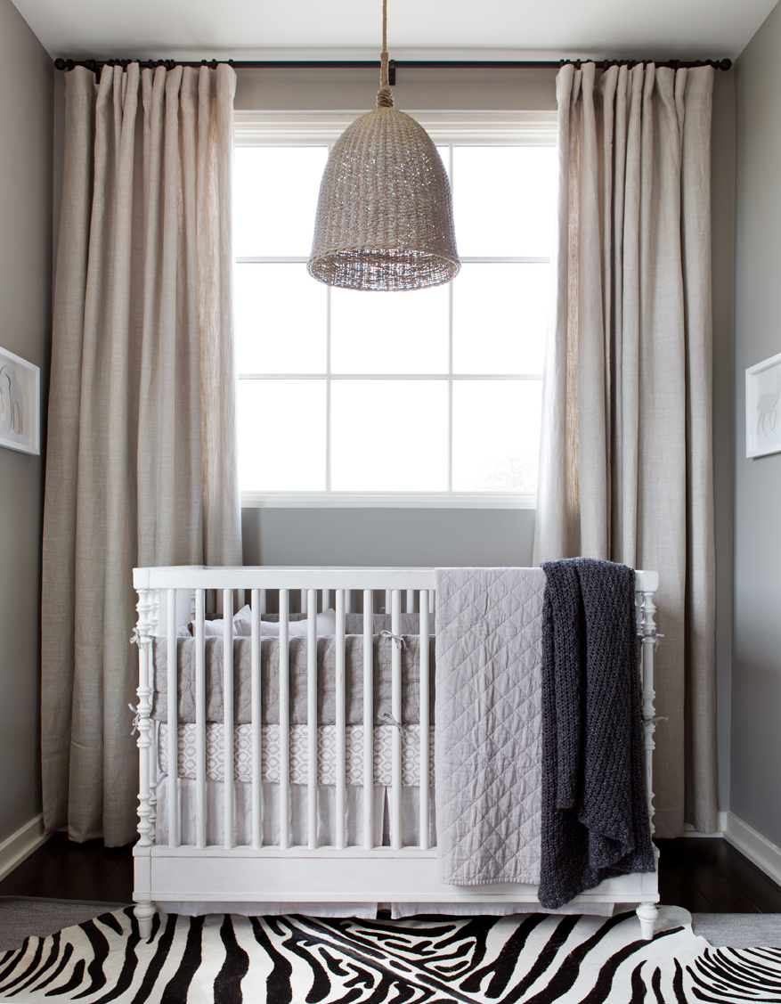 Neutral Safari-Inspired Nursery
