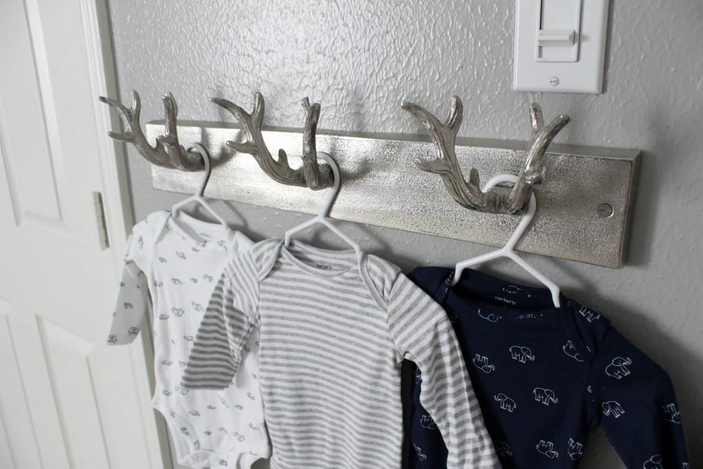 Modern Navy and Grey Rustic Nursery  Project Nursery