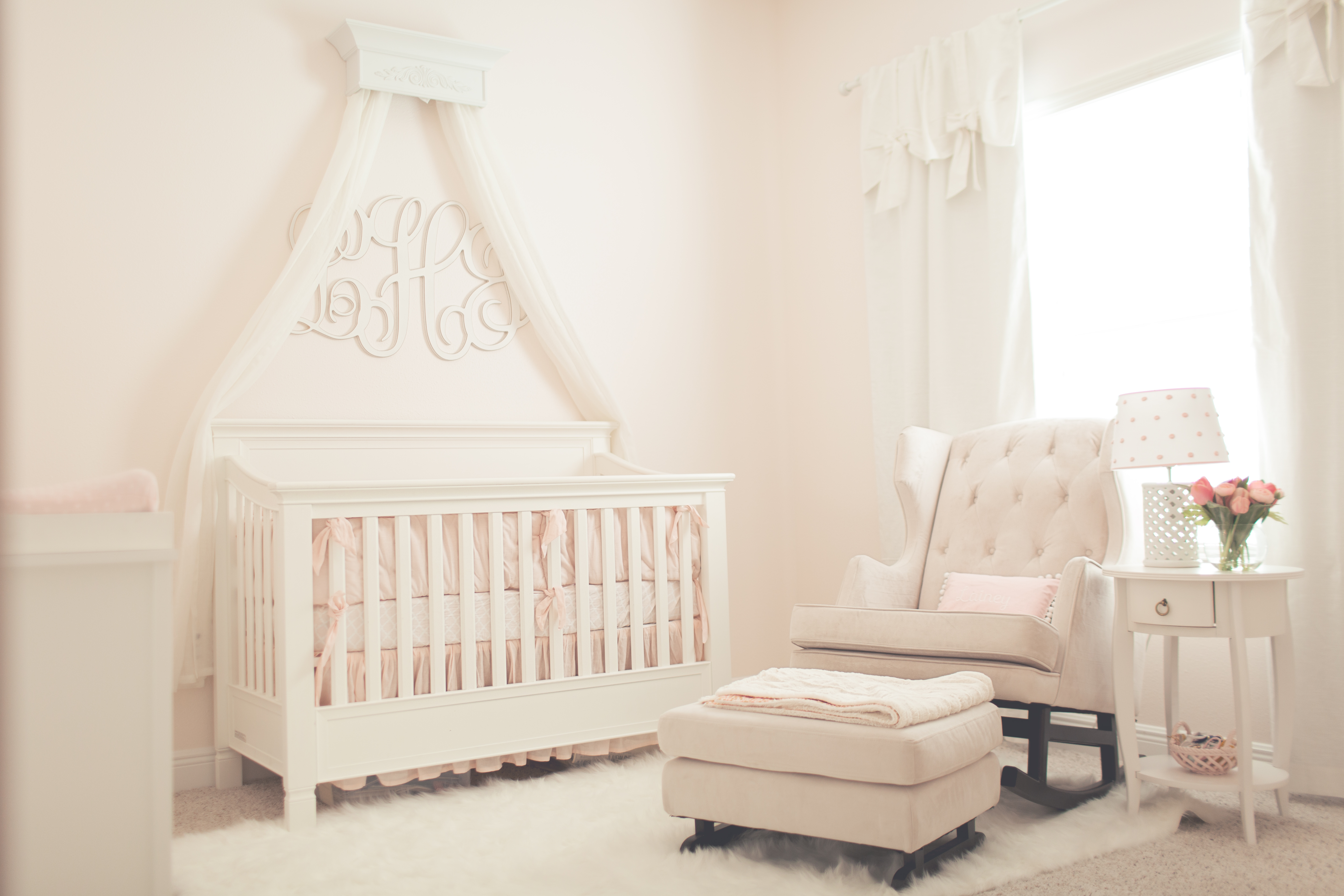 bedroom chair design ideas image black spandex covers pink simplicity nursery - project