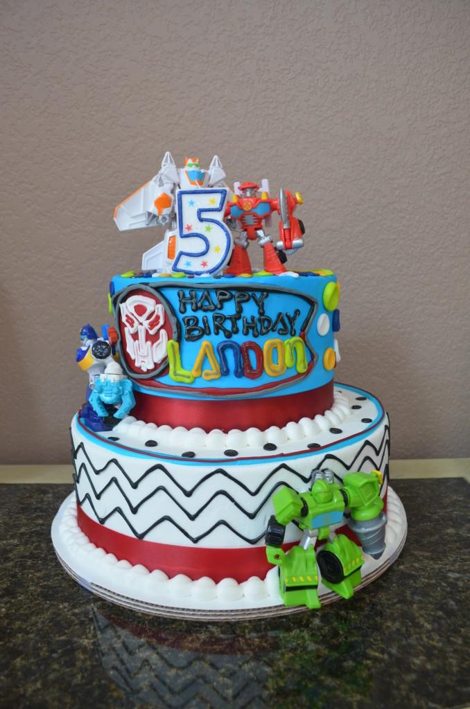 Landons Rescue Bots 5th Birthday Project Nursery
