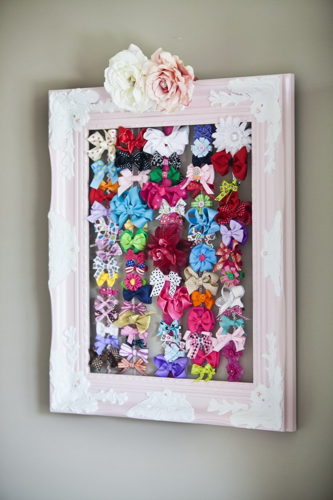 Clever Baby Hair Bow Organization