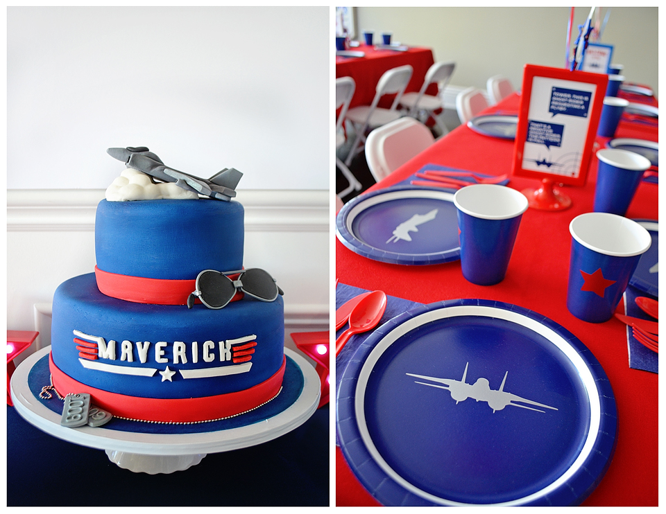 Maverick S Quot Top Gun Quot 2nd Birthday Party Project Nursery