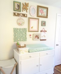Rory Lou's Shabby Chic Mint, Pink and Gold Nursery ...