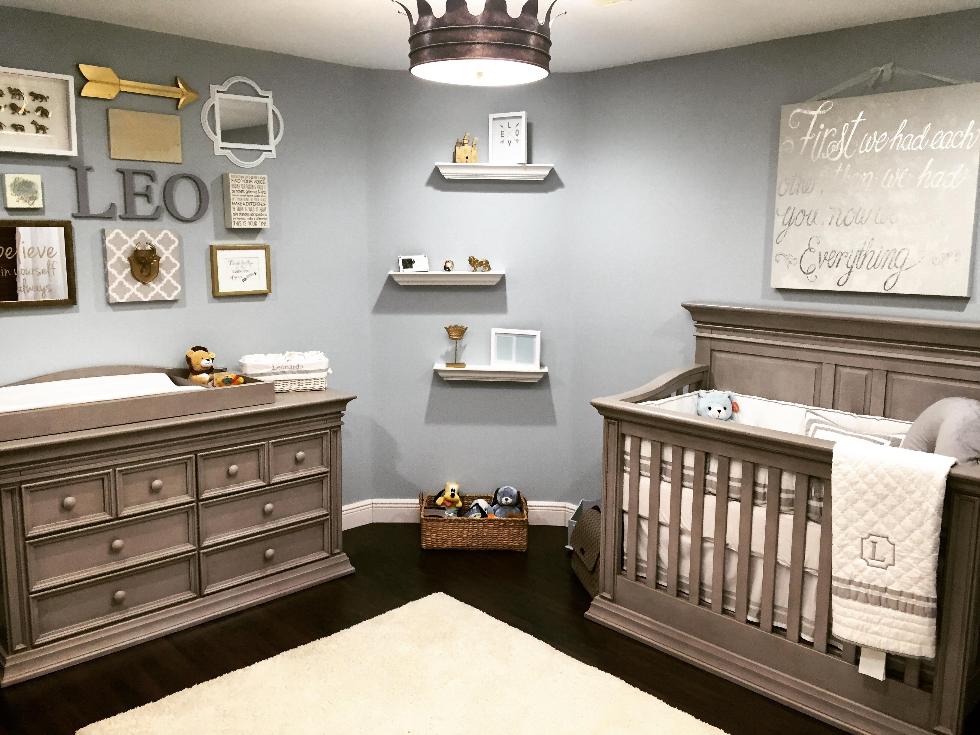 Little Leos Nursery fit for a King  Project Nursery