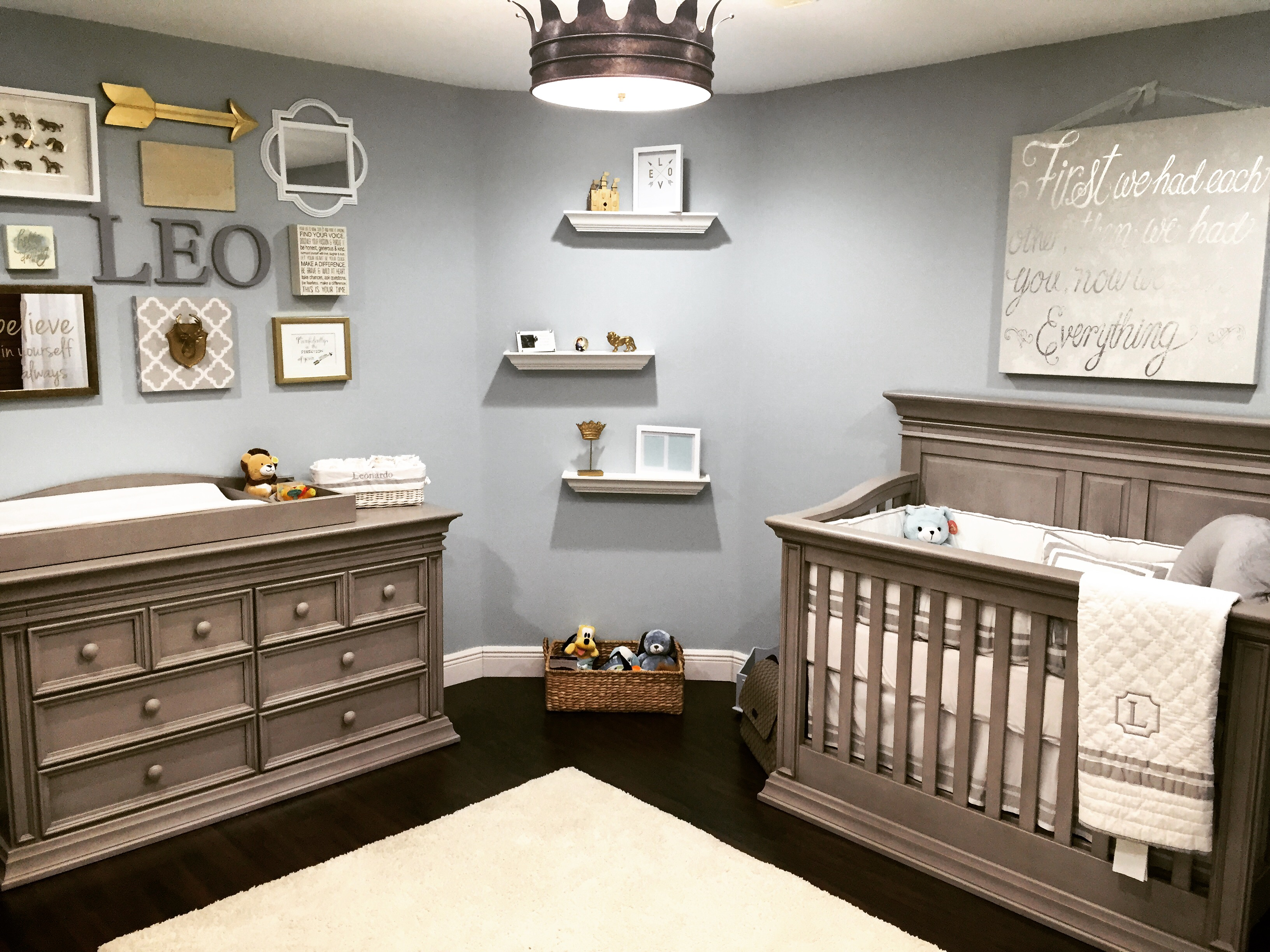 Little Leo S Nursery Fit For A King Project Nursery