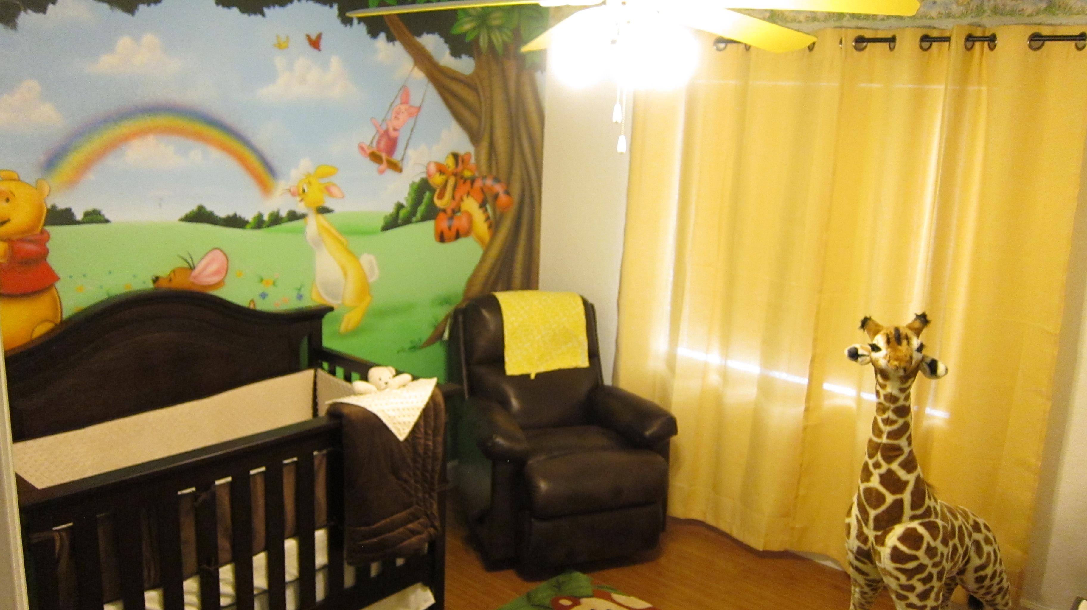 Jungle Themed Winnie the Pooh Nursery  Project Nursery