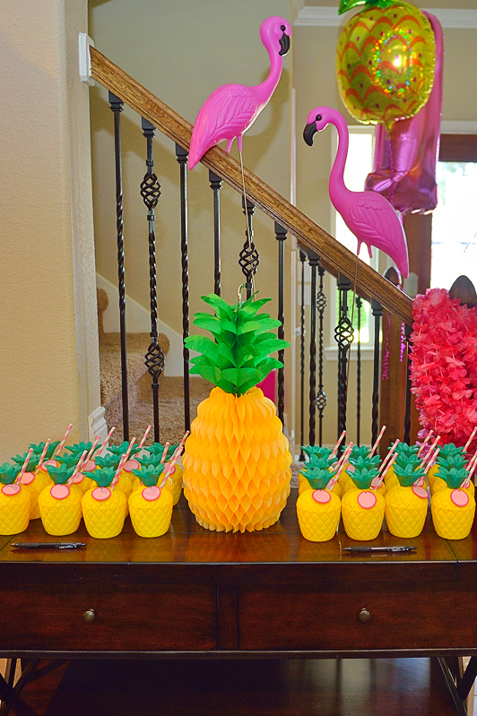 A Pineapple Party For Lucys 1st Birthday Project Nursery