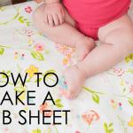 Diy How To Make A Crib Sheet Project Nursery
