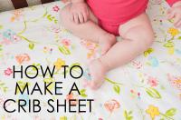 DIY: How to Make a Crib Sheet - Project Nursery