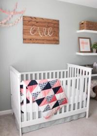 Evie's Rustic Glam Nursery - Project Nursery