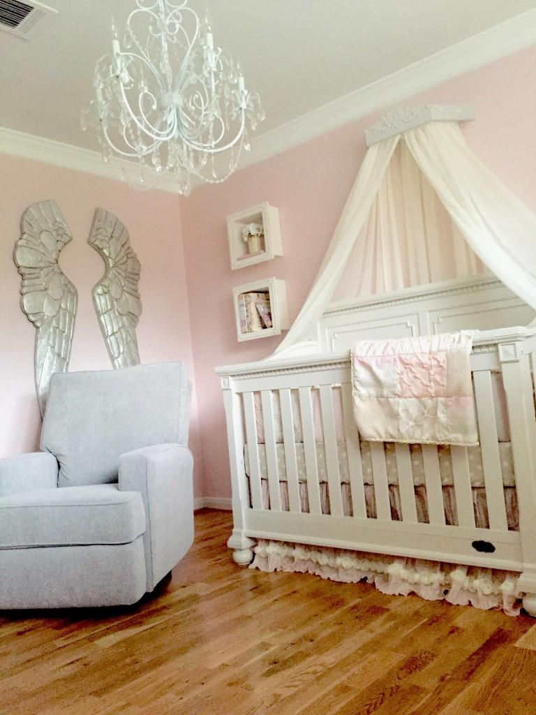 A Pink And Grey Nursery That Soothes And Calms A Princess Project Nursery