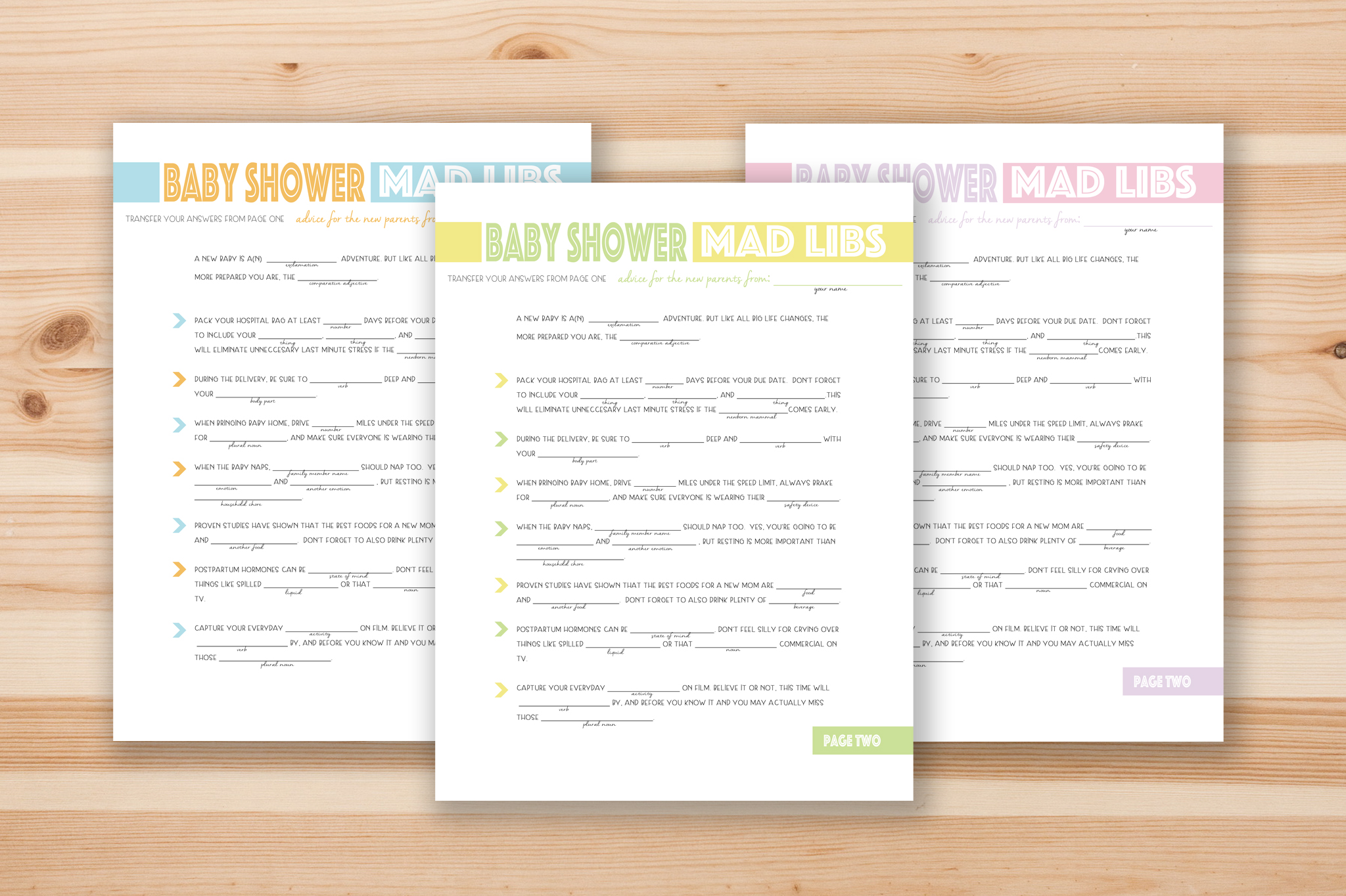 Free Printable Mad Libs That Are Gutsy