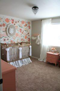 Hand Painted Floral Wall Mural Nursery - Project Nursery