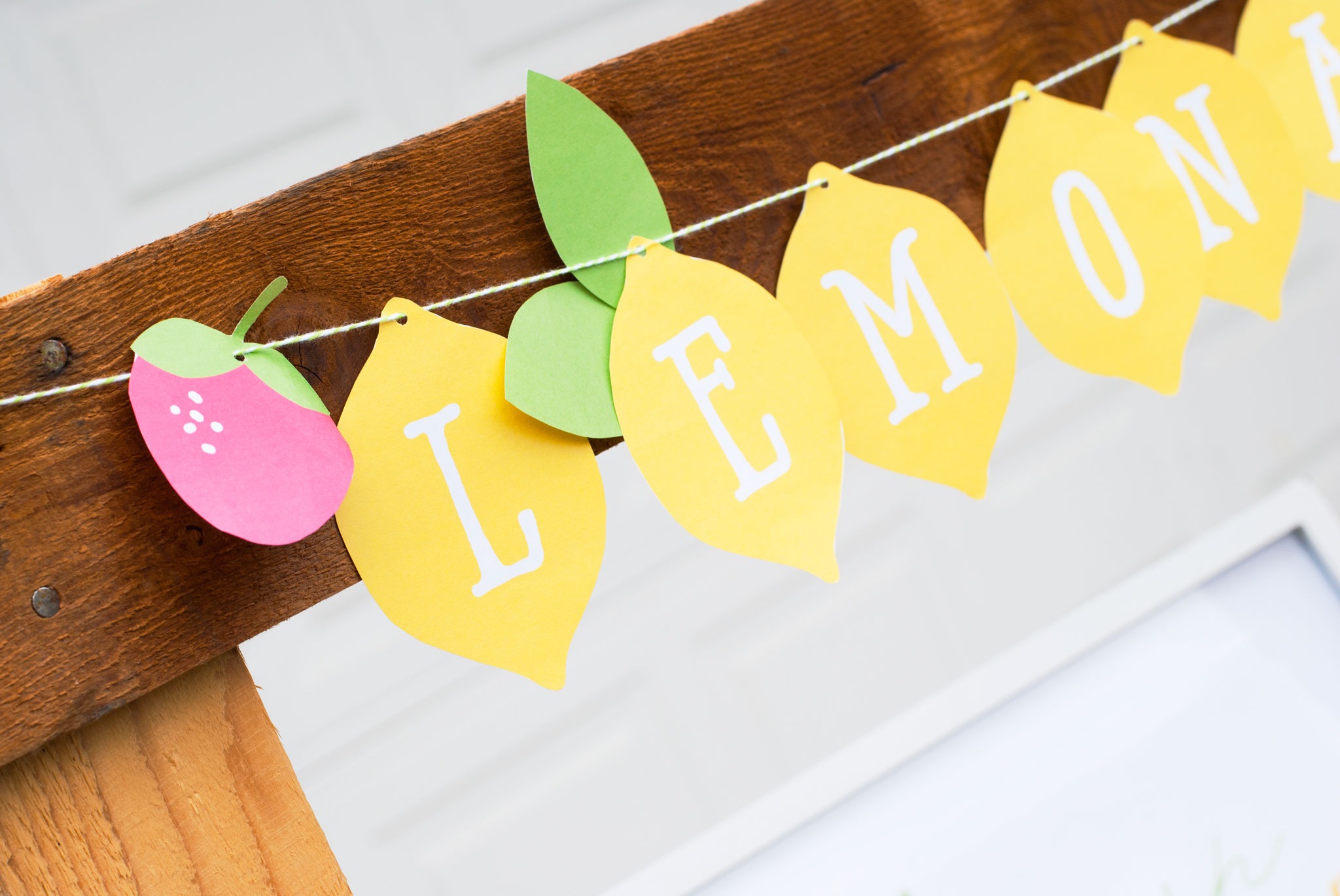 Free Printables To Make Your Lemonade Stand Extra Sweet