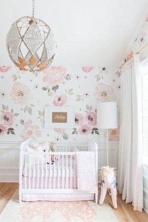 nursery hibbs monika floral unicorn ride jolie curtains pendant lamp floor delicate