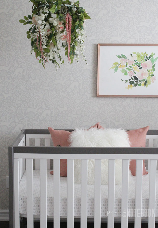Baby Girl Nursery Flower Wallpaper Baby Girl S Whimsical Nursery Project Nursery