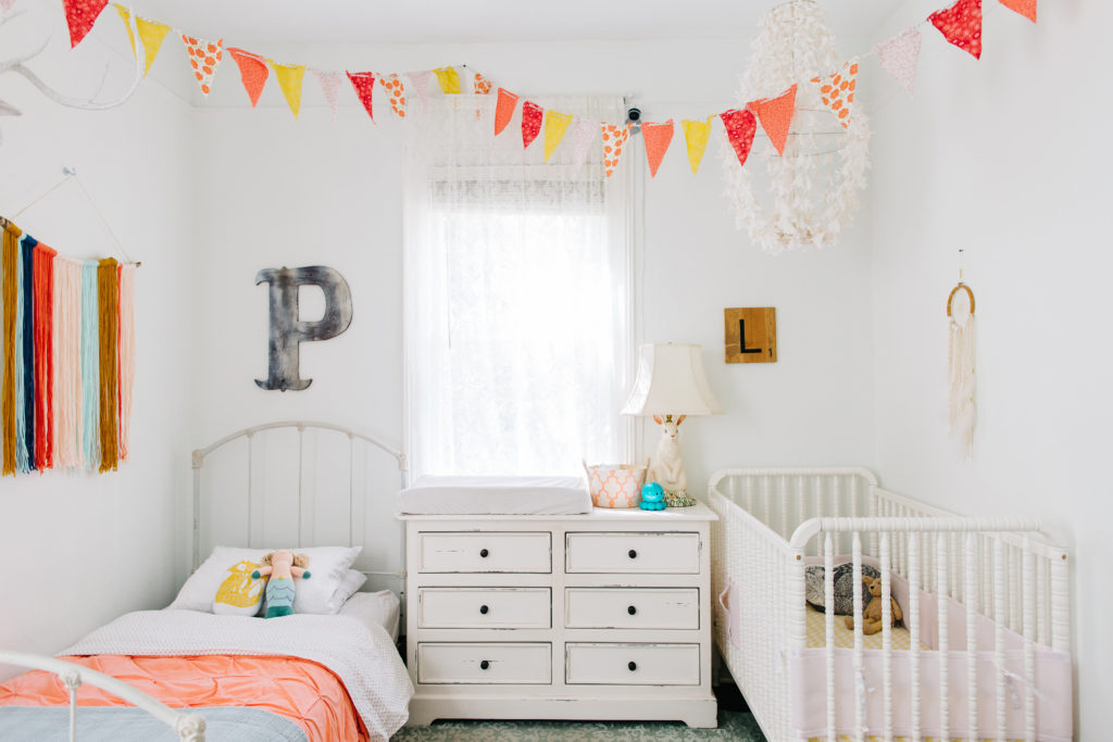 Penny and Lucys Whimsical Girls Bedroom  Project Nursery