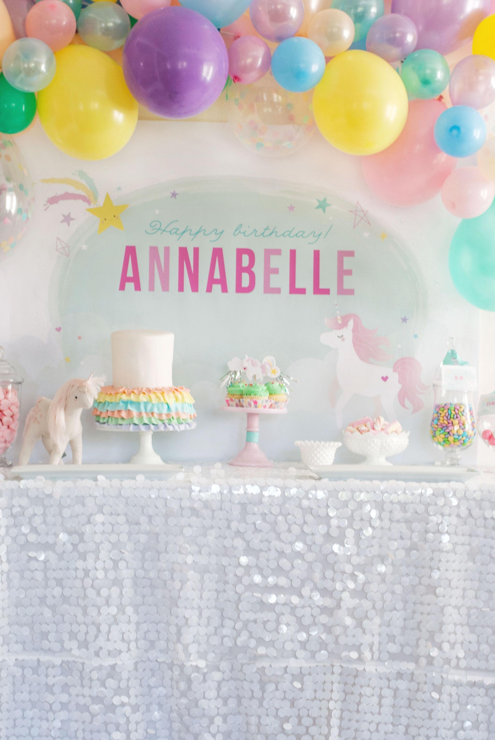 Unicorn Candy Table Ideas : unicorn, candy, table, ideas, Magical, Unicorn, Birthday, Party, Project, Nursery