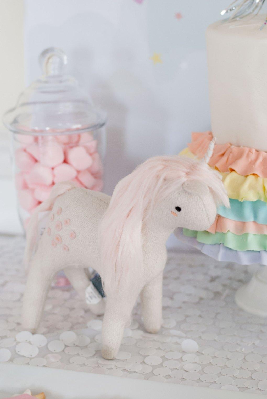 Plush Unicorn from The Land of Nod