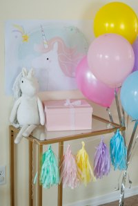 Magical Unicorn Birthday Party - Project Nursery