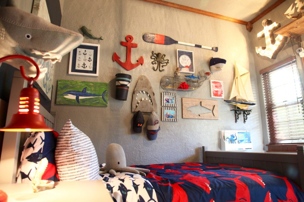 Shark Themed Boy S Room Project Nursery