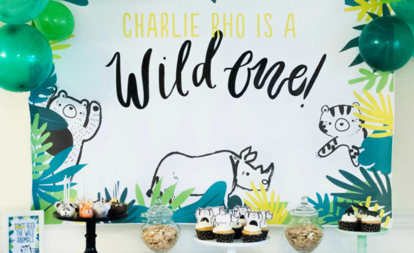 Wild One Birthday Party Project Nursery