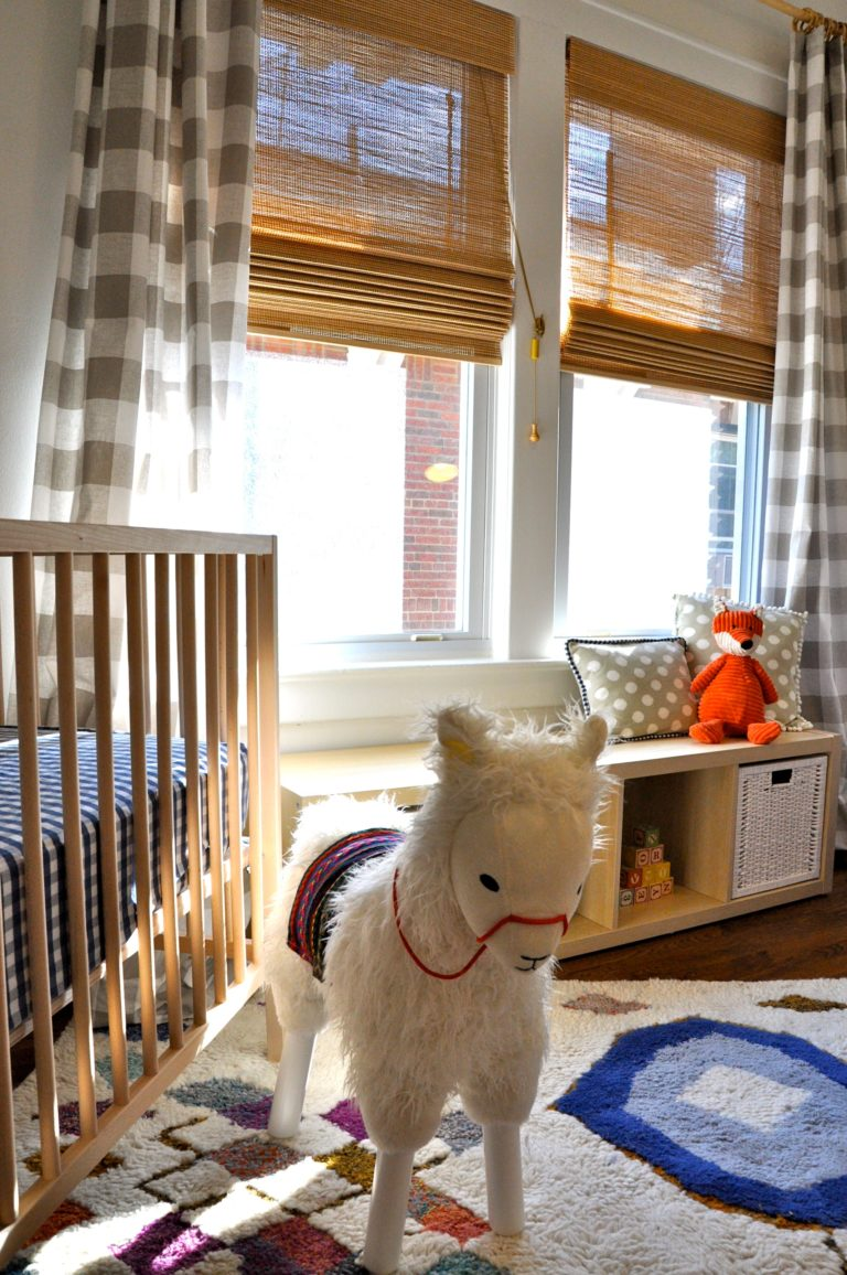 Little Baby Girl Wallpaper Ideas Readers Favorite Otomi Gingham And Llama Drama