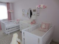 Pink, White and Gold Twin Nursery - Project Nursery