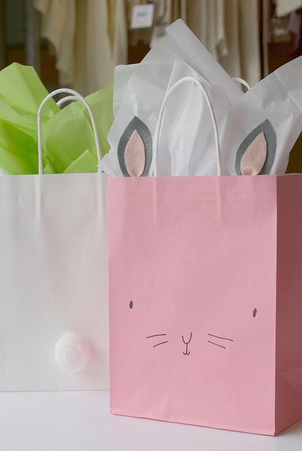 DIY Bunny Easter Bags  Project Nursery
